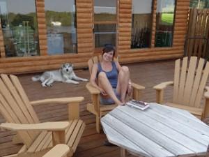 Une terrasse à construire vous-même - Vos loulous y trouveront leur place à l'ombre ou au soleil dans Actualité dsc024071-300x225